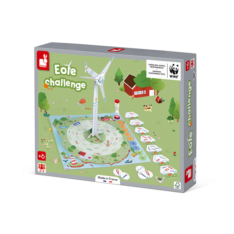 Juego Eole Challenge Colección WWF®