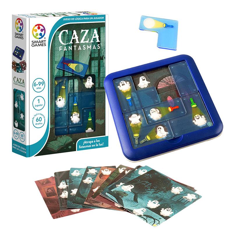 Caza fantasmas de smartgames en minikidz for Cazafantasmas juego de mesa