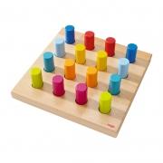 Juego para Ensartar: Roscas de Colores