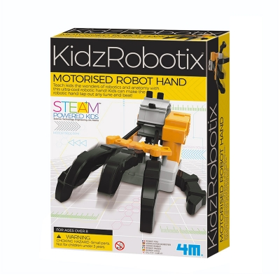 KidzRobotix: Mano Robótica Motorizada