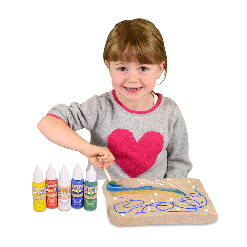 Sand Paint: Pinturas para Arena (Colores Básicos)