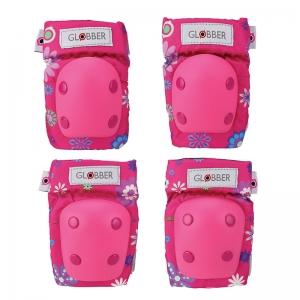 Kit Protección: Coderas y Rodilleras Flores