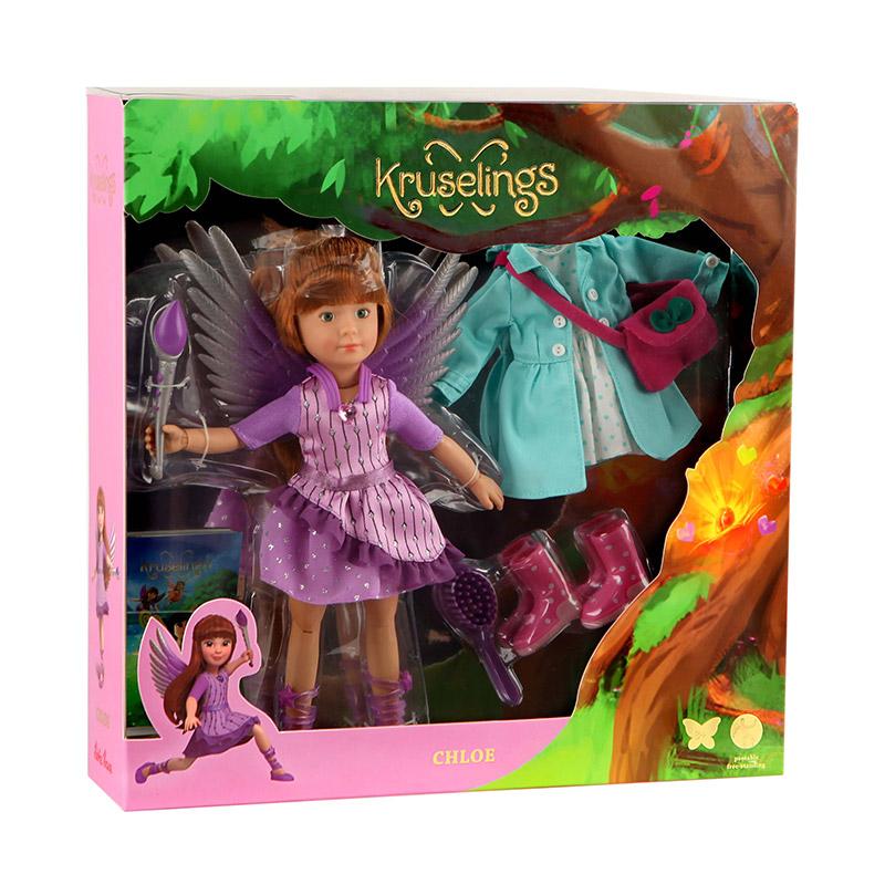 Kruselings Set Deluxe: Chloe con Alas y Vestido