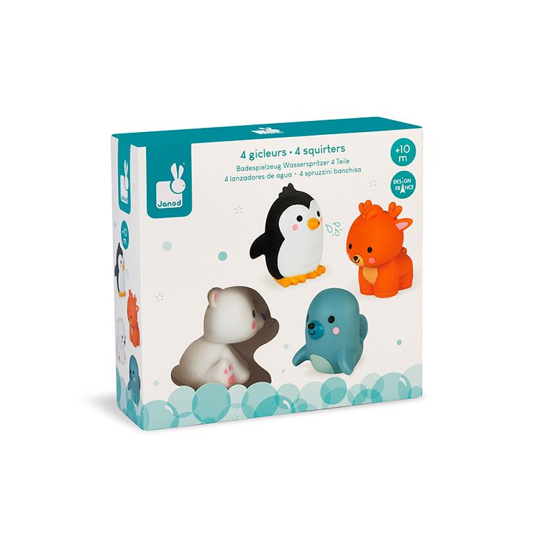 Lanzadores de Agua: Animales Polares
