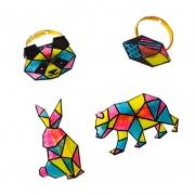 Les Ateliers Bijoux: Joyas de plástico mágico Geometrix
