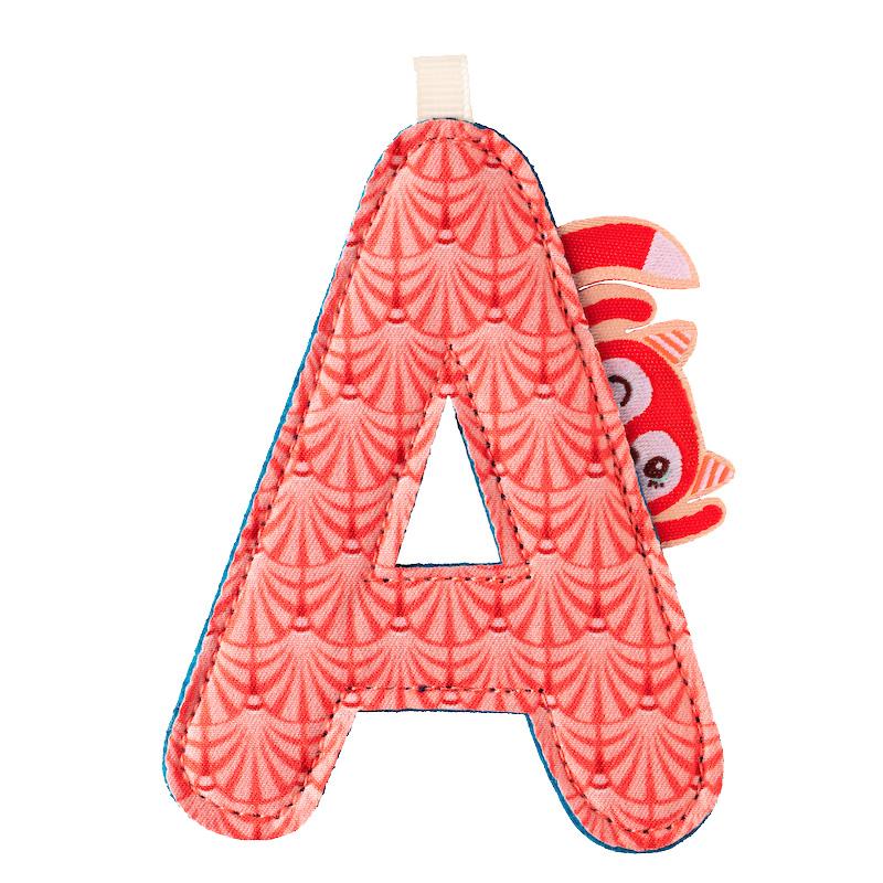 Letra A Alice Lilliputiens
