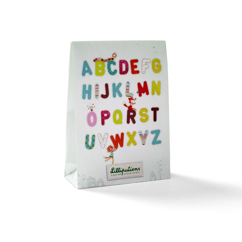 Letra E Anatole Lilliputiens