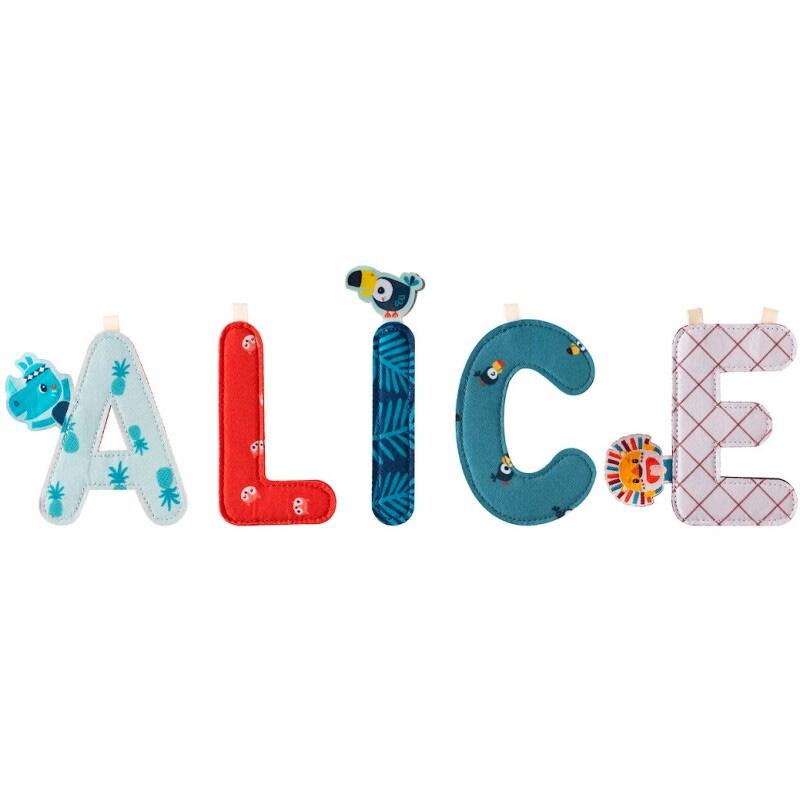 Letra L Alice Lilliputiens