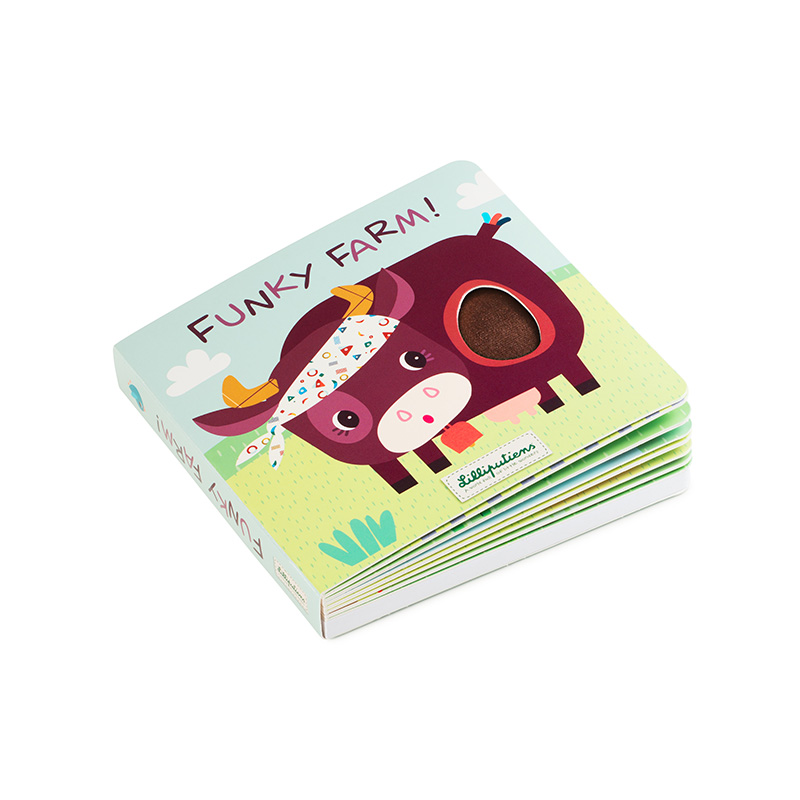 Libro de Texturas y Sonidos Funcky Farm