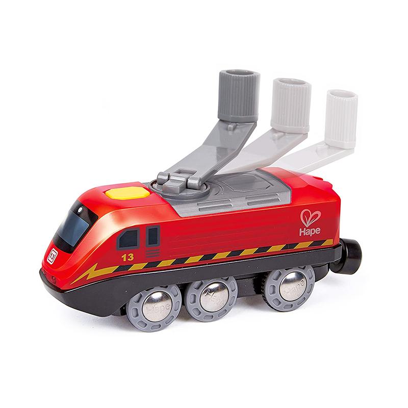 Locomotora con Manivela