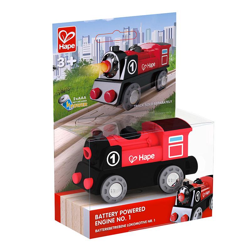 Locomotora de Tren Eléctrica Nº1