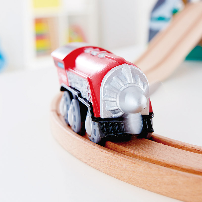 Locomotora Eléctrica con Hélice