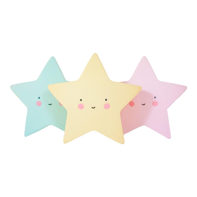 Luz Quitamiedos Estrella Rosa