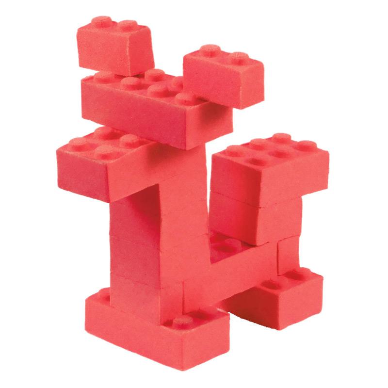 Mad Mattr: Fabrica tus propios Ladrillos Rojo