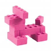 Mad Mattr: Fabrica tus propios Ladrillos Rosa