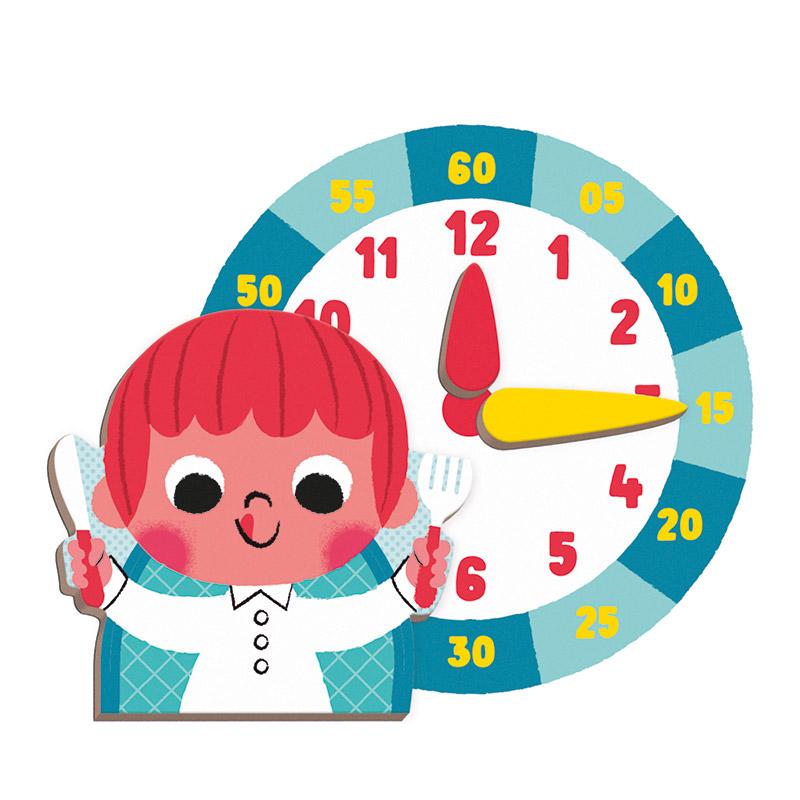 Magnetibook Aprendo la Hora