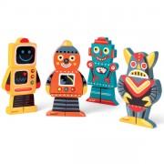 Magnéticos Divertidos: Robots