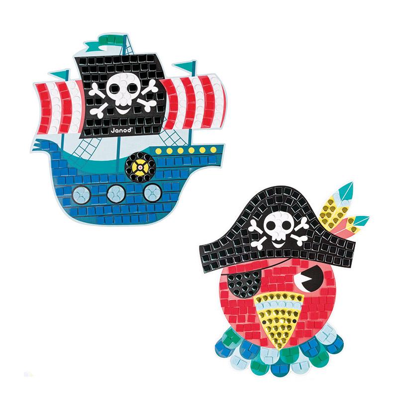 Maletín de Mosaicos: Piratas