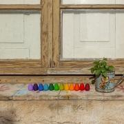 Mandala Huevos Rainbow