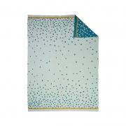 Manta de Punto: Happy Dots Azul