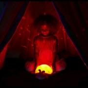 Mariquita Cloud B Planetario Rosa