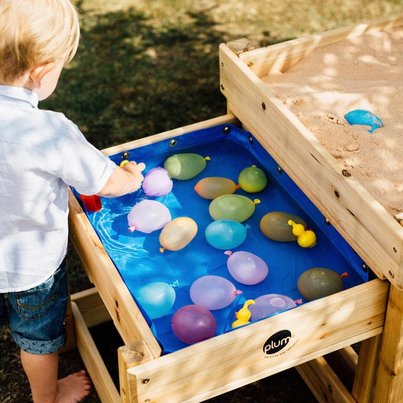 Mesas Nido de Experimentación: Agua y Arena