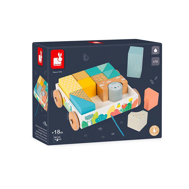 Mini Carrito con Cubos para Pasear Pure
