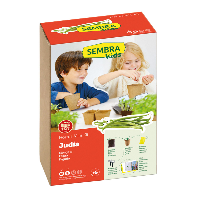 Mini Kit Judía Verde