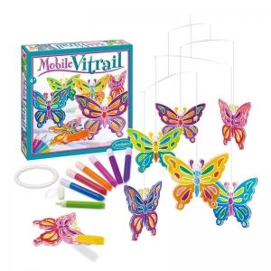 Mobile Vitrail Mariposas