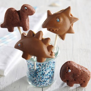 Molde para Cake Pops: Los amigos de Dino