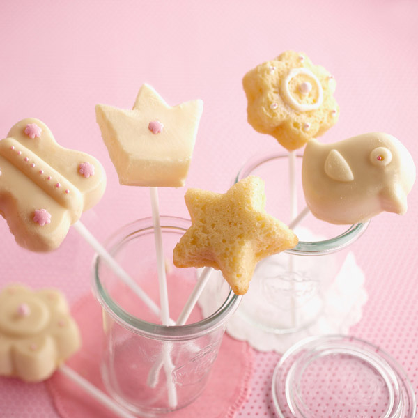 Molde para Cake Pops: A pedir de boca