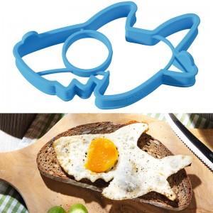 Molde para Huevo Frito: Tiburón