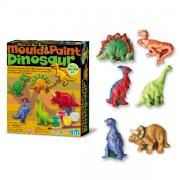 Moldea y pinta Dinosaurios