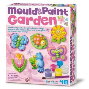 Moldea y pinta el Jardín
