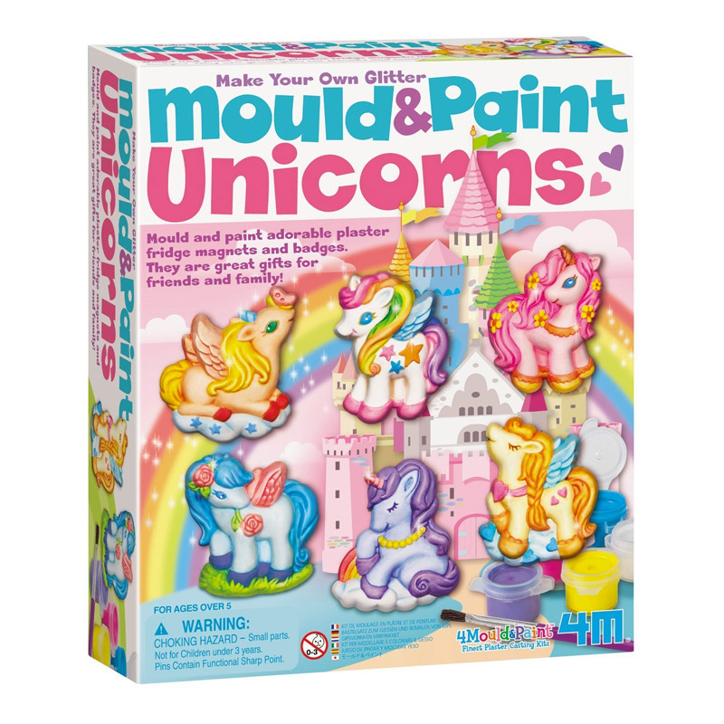 Moldea y Pinta Unicornios