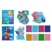 Mosaicos Delfines y Sirenas