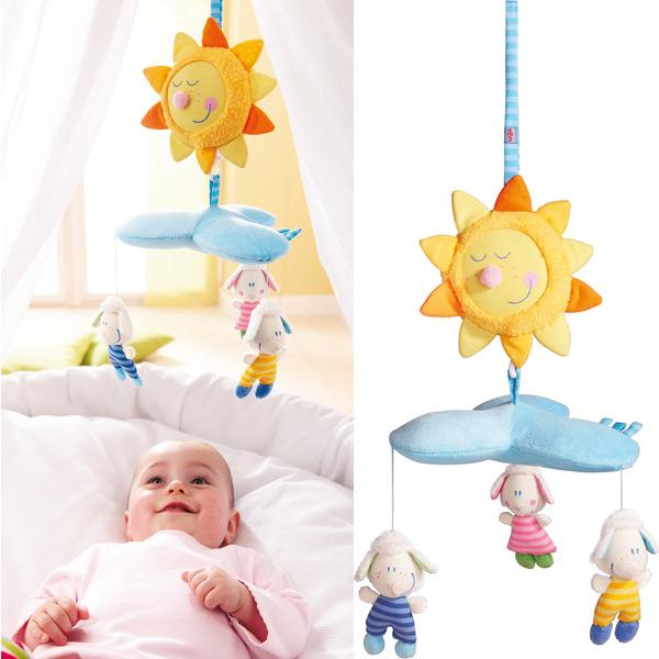 M vil para cuna sue anubes de haba en minikidz - Movil para cuna bebe ...