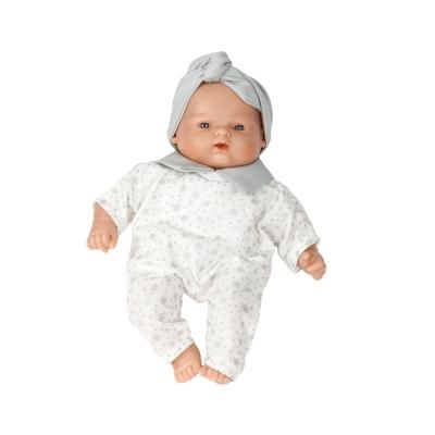 Muñeca Bebé 26 cm: Estrellitas Grises