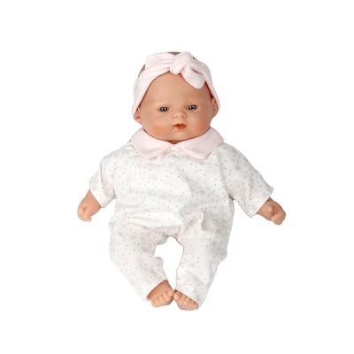 Muñeca Bebé 26 cm: Estrellitas Rosas