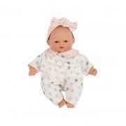 Muñeca Bebé 26 cm: Little Babies Gotas Rosa