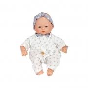 Muñeca Bebé 26 cm: Little Babies Stars Gris