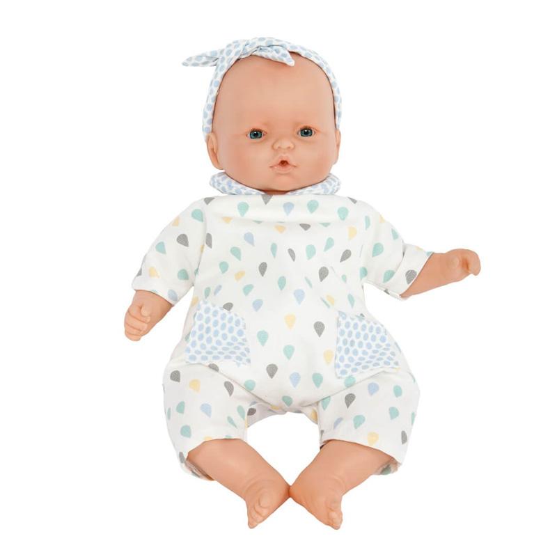 Muñeca Bebé 36 cm: Nins Gotas Azul
