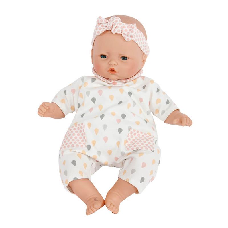 Muñeca Bebé 36 cm: Nins Gotas Rosa