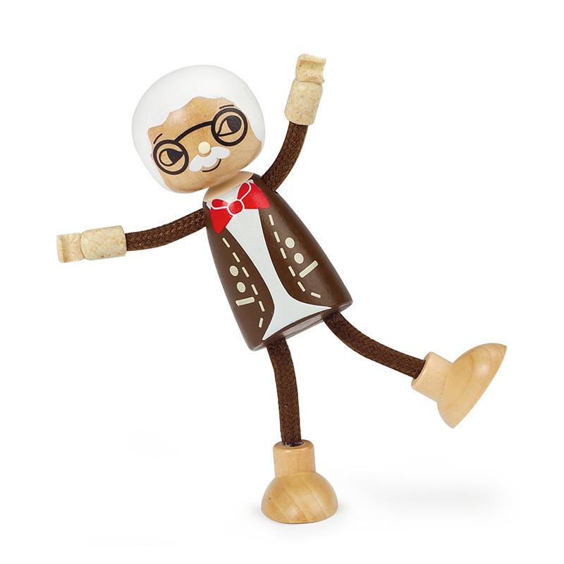 Muñeco para Casitas: Abuelo