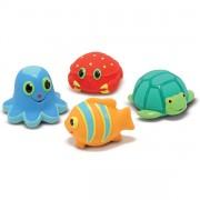 Muñecos de baño Animales Marinos