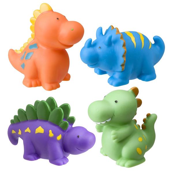 Muñecos de baño Dinosaurios