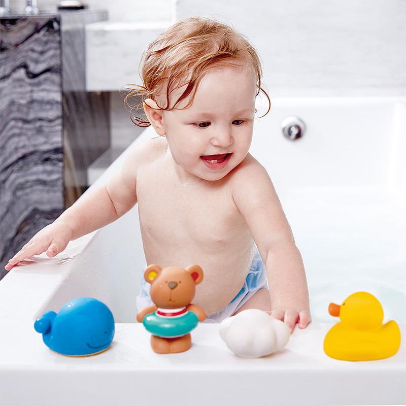 Muñecos de baño: Osito y sus Amigos