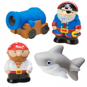 Muñecos de baño Piratas