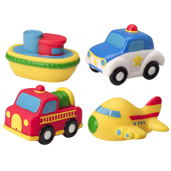 Muñecos de baño Transportes