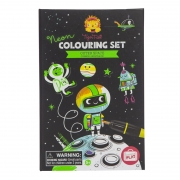 Neón Colouring Set: Espacio